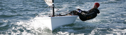 Solution Dinghy in action